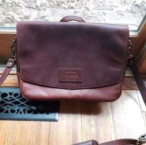 Portland Leather Goods EUC Modern Messenger